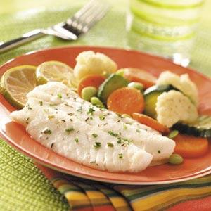 Fish in baby diet